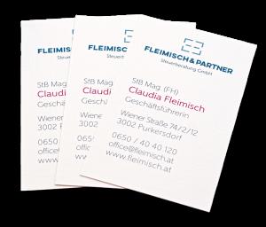 Visitenkarte Fleimisch & Partner